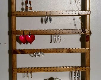 Jewelry Storage, Jewelry Holder, Jewelry Organizer, Earring Holder,  Jewelry Stand, Jewelry Display, Earring Display, Jewelry Hanger