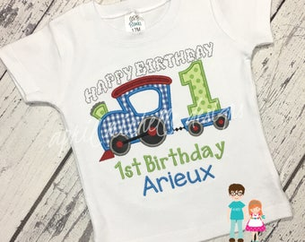Train Birthday Shirt, Boys Train Birthday Shirt, Boys Birthday Shirt, Choo Choo Birthday Shirt, Birthday Shirt, Train Shirt, Train Birthday