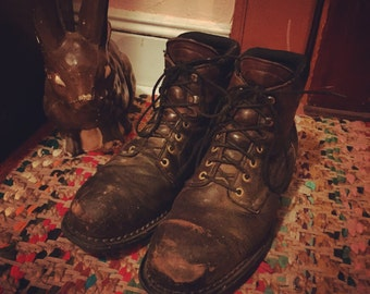Vintage Redwing Boots Mens Size 12