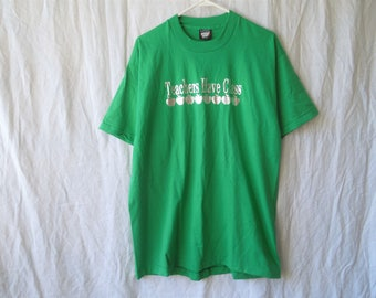 90s Teachers Have Class Silver and Green Funny T-Shirt