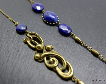Long necklace, art deco