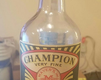 REDUCED...!!   Extremely RARE S. Oregon/CA Whiskey Bottle during Prohibition
