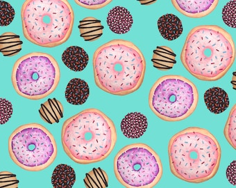 Gift Wrapping Paper- Donuts