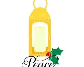 Christmas Lantern SVG - Instant Digital Download