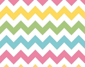 Riley Blake-Medium Chevron-GIRL