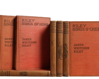 James Whitcomb Riley Poetry, S/6