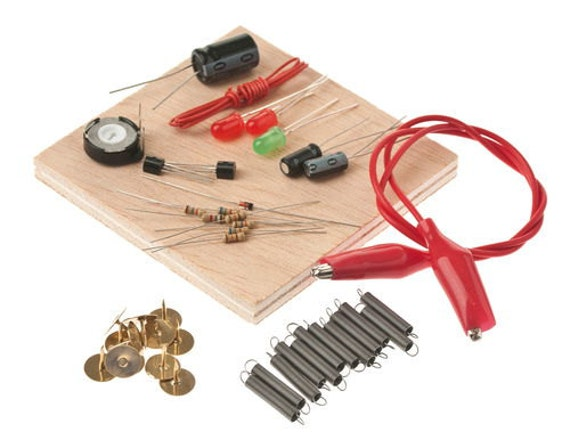Toys For Adults Electronic Gadgets : Light diodes resistors diode transistor