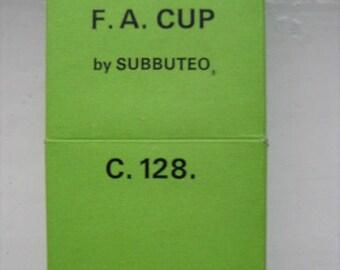 Subbuteo FA Cup C.128 Set