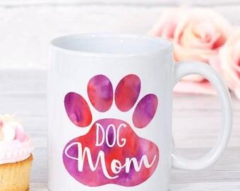 Dog Mom Mug, Gift for Dog Lover, Dog Lover Gift, I Love My Dog Gift, Dog Parent Gift, Gift Pet Mom