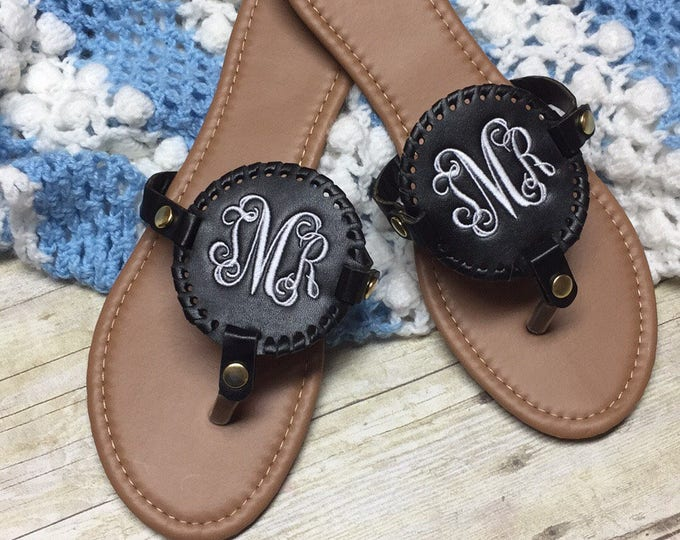 Featured listing image: Personalized Disc Sandals