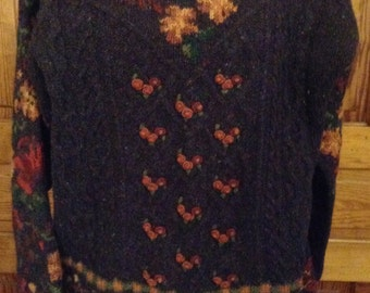 SALE/ Laura Ashley wool sweater/Price Reduced