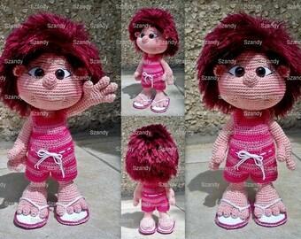 Summer elf doll