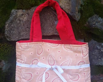 Paisley Tote, Bag, Purse
