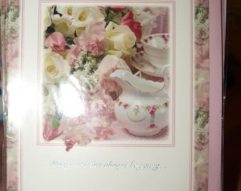On Your 80th Birthday China and Flowers Birthday Card