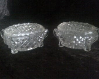 Crystal Glass Jewellery Boxes
