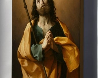 Canvas 24x36; Guido Reni Saint James The Greater