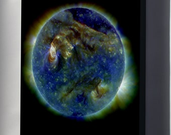 Canvas 24x36; Sun From Solar Dynamics Observatory  !!!!!!Check Other Folder!!!!!!