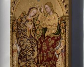 Canvas 16x24; Gentile Da Fabriano - Coronation Of The Virgin #031715