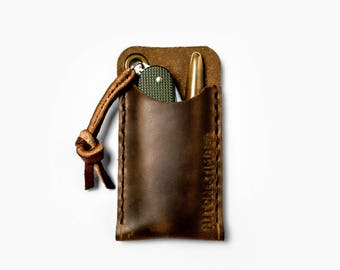 EDC Pocket Slip - Leather Sleeve for Everyday Carry