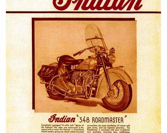 Classic Indian Motorcycle 348 Roadmaster
