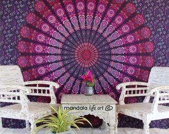 Bohemian Wall Tapestries, Gypsy Wall Tapestry, Indian Mandala Tapestry, Boho Tapestry Dorm Decor