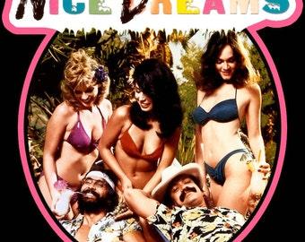 Cheech & Chong's Nice Dreams Vintage Image T-shirt