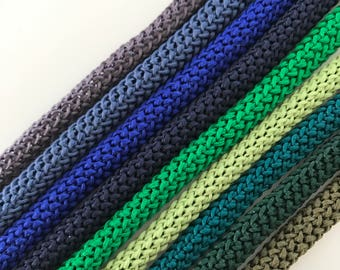 Macrame braid cord 6mm, yarn for macrame, 100m Polyester rope, Crochet rope, knitting rope, Rope, Craft supplies, macrame rope, macrame cord