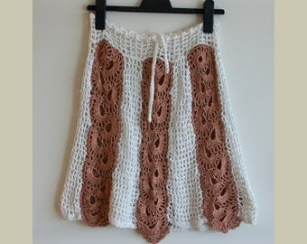 Run skirt crochet upcycled - no postage will be charged