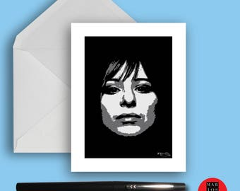 Greeting Card Barbra Streisand 6 Decades of Being Amazing Blank Note Card Set - 3 Note Cards with White Envelopes - Ready To Ship