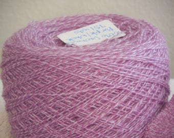 First Crush 100% Cashmere - Reclaimed -Lace weight 1118 yds/67 grs - Knitters, Weavers, Crocheters