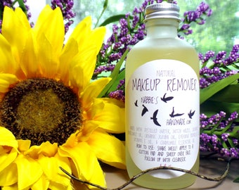 Makeup Remover| All Natural Oil Makeup Remover| Natural Makeup| Organic Makeup Remover| Natural Skincare| Vegan Skincare| Organic Skincare
