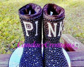 PINK INSPIRED Pearl Boots