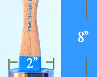 Chalk Paint Brushes 12 Medium Size Natural Boar Hair .. Seconds  Good for Painting, 12 Waxing sold as seconds  two dozen total brushestl