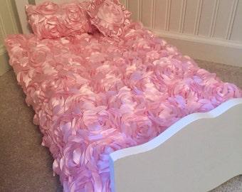 """Comforter set fir 18"""" doll bed"""