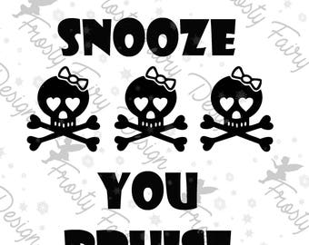 Roller Derby SVG  Snooze and Bruise Derby