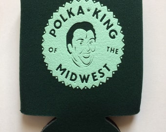 2 Home Alone Drink Cozies Polka King of the Midwest, John Candy