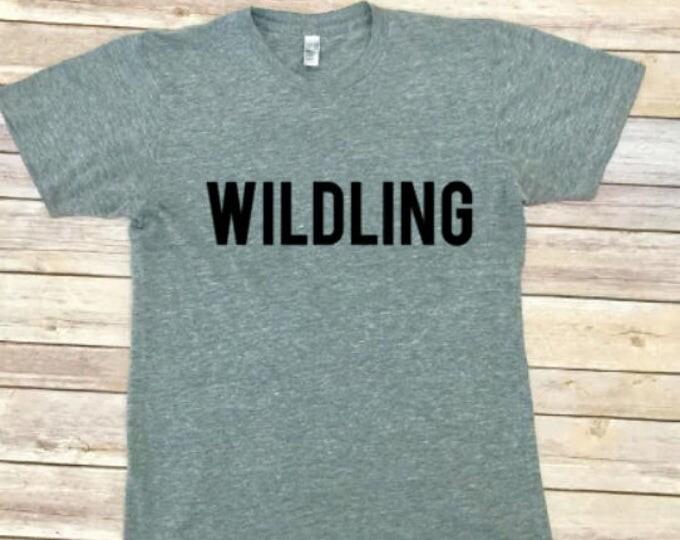 WILDING Unisex Shirt - Game of Thrones Shir - Men's Shirt - Women's Shirt - Unisex Clothing - Triblend Tee