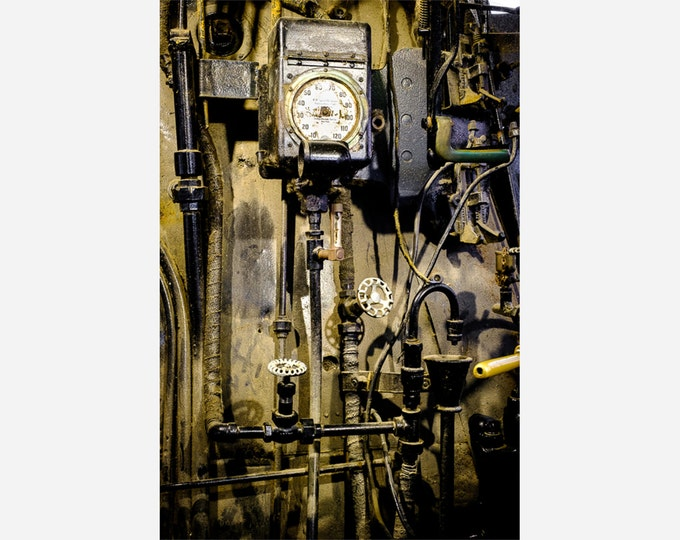 LOCOMOTIVE DETAIL 5 | modern fine art photography blank note cards custom books interior decor affordable pictures –Rick Graves