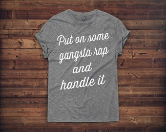 Naps And Gangsta Rap Etsy