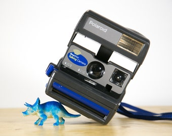 Blue Talking Polaroid Instant Camera - For Display #P113