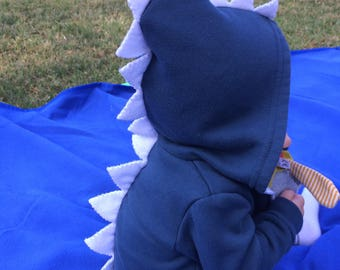 Spiked hoodie, infant