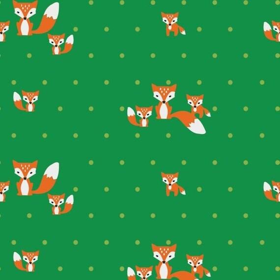 Fox print corduroy fabric 100 cotton half metre for Fox print fabric
