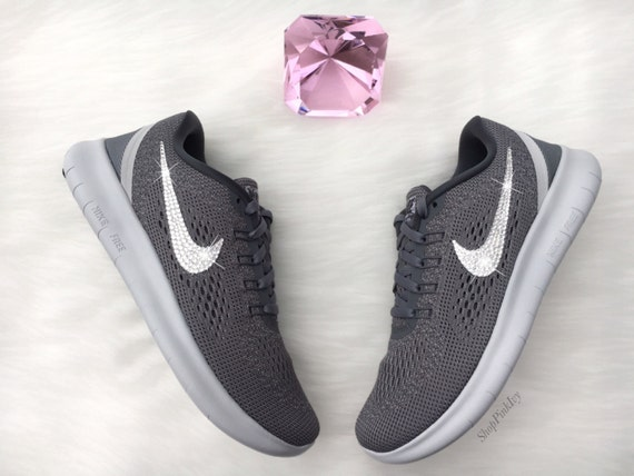 32af13740f3ca durable service 2016 Swarovski Nike Free RN Running Shoes by ...