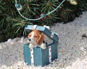 Puppy Surprise for Miniature Garden, Fairy Garden