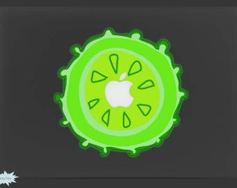 Luminous Decal Night Glow Decal Night-shining Decal Mac Stickers Macbook Decals Macbook Stickers Mac Decal Stickers Laptop Decal