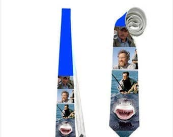 Necktie shark jaws tie horror scary terror classic