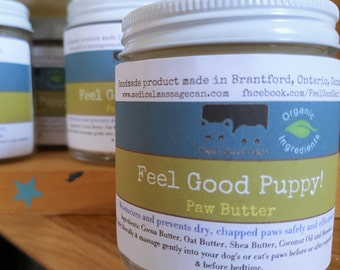 Feel Good Puppy!  Paw Butter