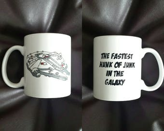 Hand painted mug inspired by Star Wars