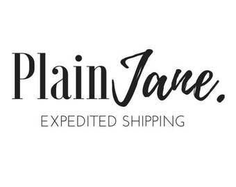Expedited Production & Shipping