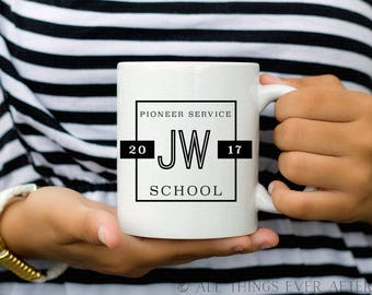 Pioneer School Gift | JW | MUG | Fully Accomplish Your Ministry | 2 Tim 4:5 | Elder's | Gift | Baptism | Present | Jw Org 3